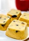 レンジで簡単リメイク♪黒豆きな粉蒸しパン