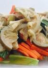 野菜の塩ライムソテー