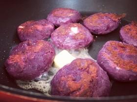 カンタン紫いも餅チーズ入り