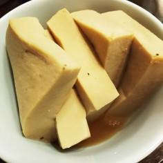 あごだしの高野豆腐