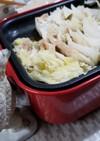 豚肉と白菜の重ね蒸し ホットプレートで