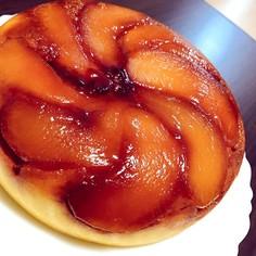 炊飯器で簡単!りんごのチーズケーキ