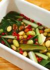 豆のピクルス