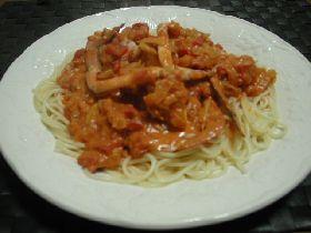 まいうぅ~!渡り蟹のクリームスパゲティ