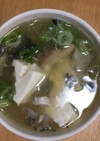 簡単!!身体あったまる和風鯖スープ