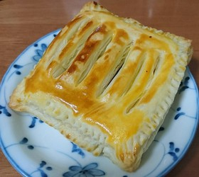レンジとトースターでお手軽アップルパイ
