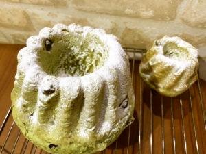 黒豆抹茶クグロフ(ストレート酵母)