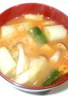 基本の味噌キムチスープ♪簡単キムチ味噌汁