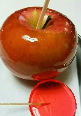 パリパリ屋台のりんご飴