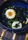 簡単!副菜に!竹輪とワカメの酢味噌和え
