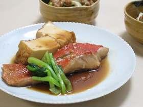 金目鯛のこっくり煮