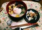彩り鮮やか栄養満点(^q^)七草粥✨✳☺