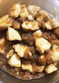 鶏胸肉の甘酢煮