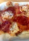最強シンプル!サワードウのピザ生地