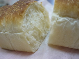ミニ食パン(低温発酵HB使用)覚書