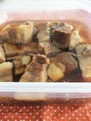 炊飯器でトロトロな豚の角煮の写真