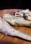 白身魚のハーブソルト焼き