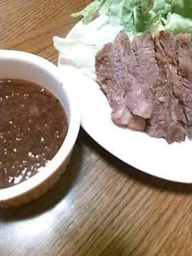 ハンバーグ☆ステーキのソース