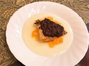 鯛の赤味噌デュクセル焼きの写真