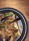 焼肉タレ風 ナスと長ネギの牛肉炒め