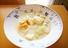 野菜と豆腐のミルクスープ