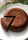 炊飯器で♪計り不要のふわふわチョコケーキ