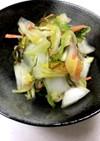 白だしで♪簡単白菜の漬物