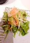 お正月のなますの残りで絶品サラダ