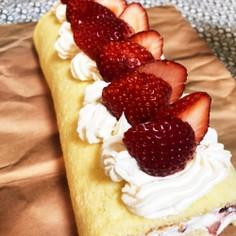 超絶簡単ロールケーキ