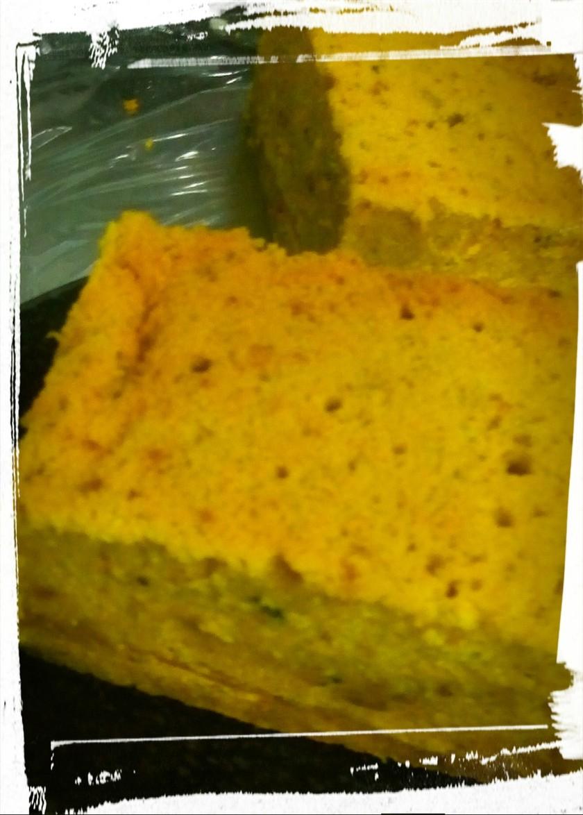 しっとり美味しいかぼちゃケーキ