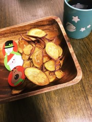 簡単 おやつ★おさつチップスの写真