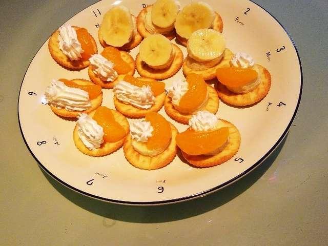 みかんとバナナの リッツパーティー!