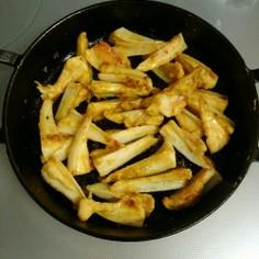 鶏軟骨カレー炒め