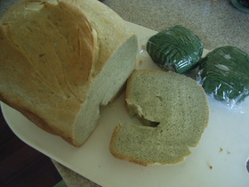 カリッ!もちっ!草もちで食パン【HB使用