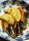 サバ缶で大根の煮物