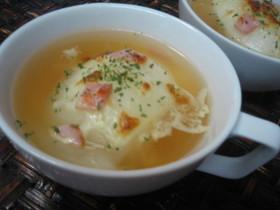 簡単♪まるごとオニオンスープ