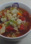 幸せお野菜たっぷりトマトスープ