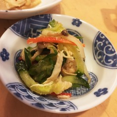 おせちリメイク  中華サラダ