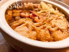 カレー鍋☆〆は+チーズで汁まで完食☆