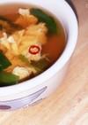 ✧小松菜と卵のかんたんスープ✧