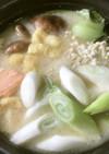 美人レシピ・石狩鍋の甘酒風味