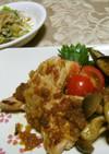 豚肉の和風ステーキ(健康食)