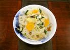 福岡県産野菜の炊きおこわ