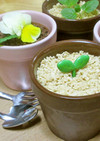 基本材料3つ!植木鉢のチョコムース