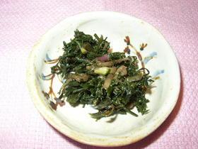春の香り★野セリの佃煮