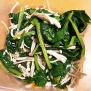 【手間なし簡単】小松菜とえのきのおひたし
