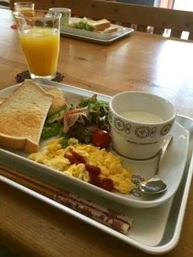 朝ご飯 ワンプレート♫ 子供でも出来る!