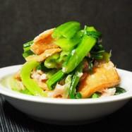 小松菜とツナのお揚げさん和え
