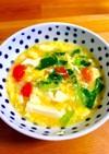 【めちゃ簡単】ニンニク香るトマト卵スープ