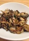 牡蠣のカリカリガーリックソテー